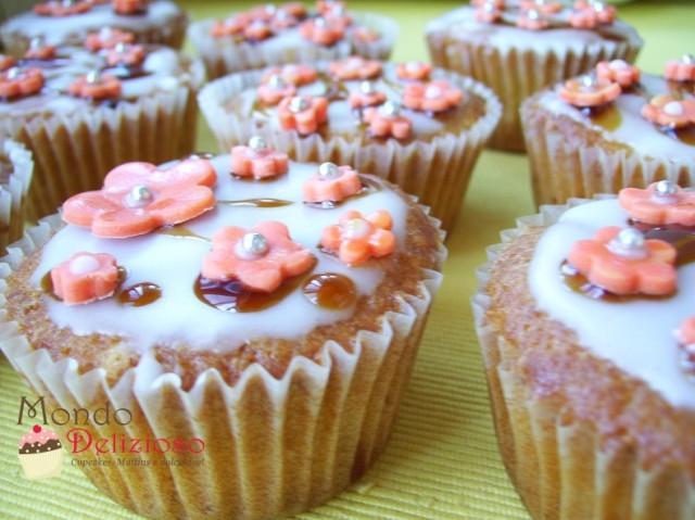 Cupcakes Pesca e Banana
