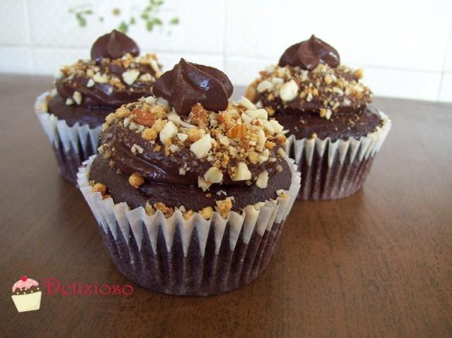 Cupcakes Rum, Cioccolato e Mandorle