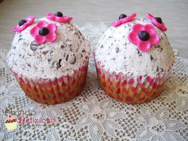 Cupcakes alla Stracciatella