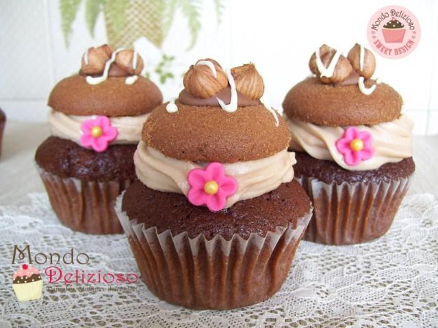 Cupcakes Nocciola e Cioccolato