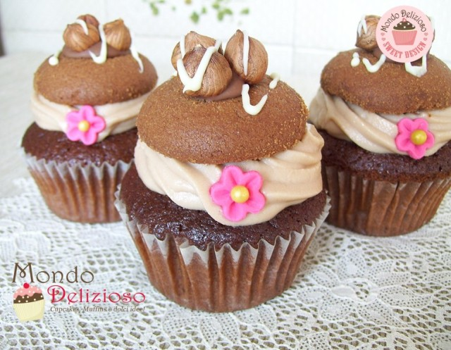 Cupcakes Nocciola e Cioccolato (14)