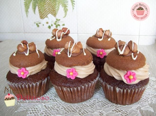Cupcakes Nocciola e Cioccolato (18)
