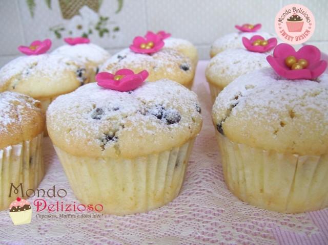 Muffins Panna e Gocce Cioccolato (11)