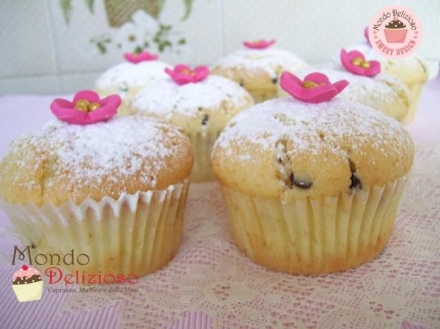 Muffins Panna e Gocce Cioccolato (13)