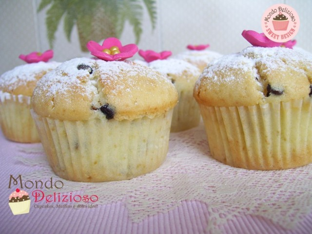 Muffins Panna e Gocce Cioccolato (14)
