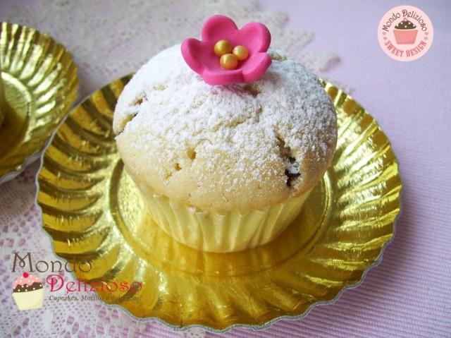 Muffins Panna e Gocce Cioccolato (2)