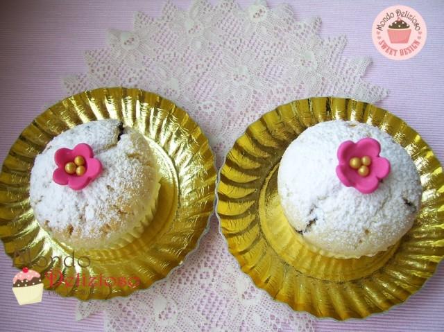 Muffins Panna e Gocce Cioccolato (4)