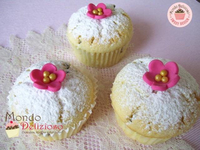 Muffins Panna e Gocce Cioccolato (5)
