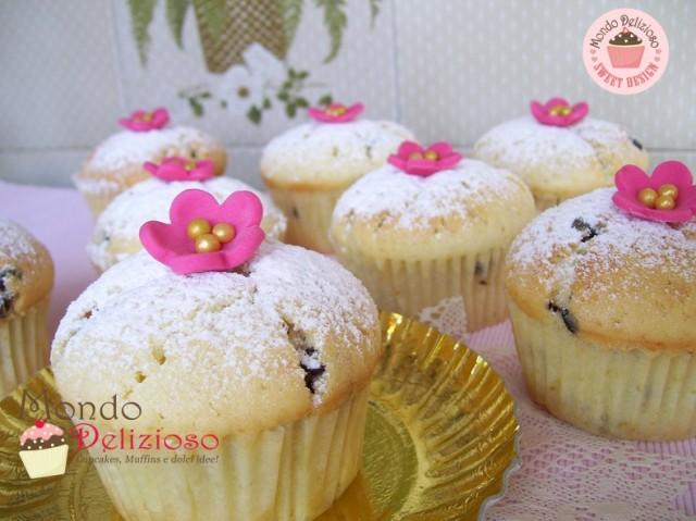 Muffins Panna e Gocce Cioccolato (6)