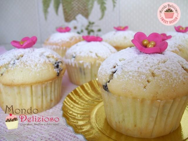Muffins Panna e Gocce Cioccolato (7)