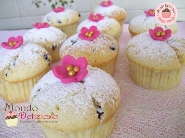 Muffins Panna e Gocce Cioccolato (9)
