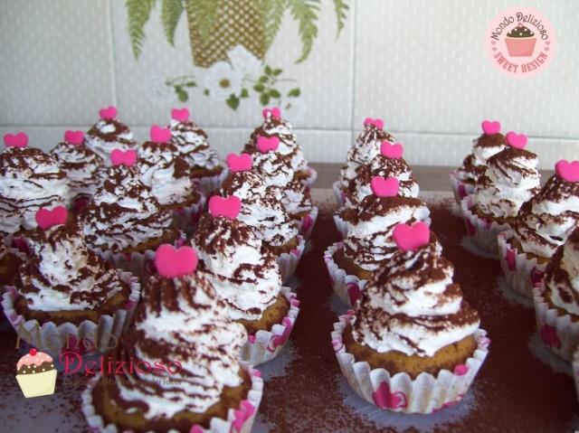 Mini Mocaccino Cupcakes