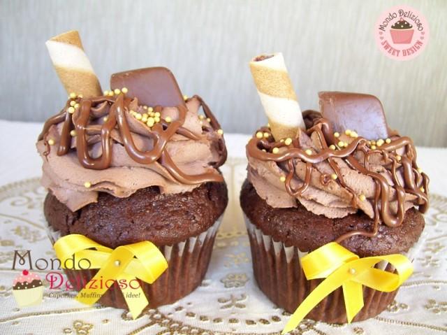 Cupcakes Gianduiotto e Nutella