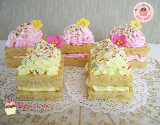 Mini Waffle Cakes