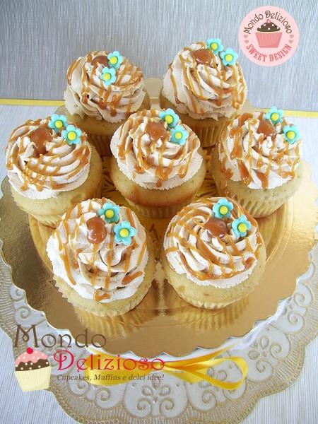 Cupcakes al Caramello Mou
