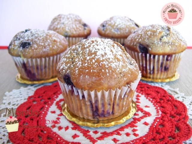Muffins alla Ciliegia