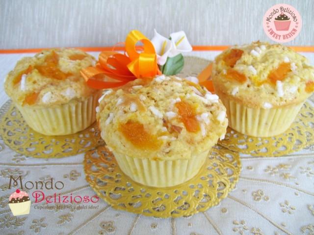 Muffins con Albicocche e Mandorle