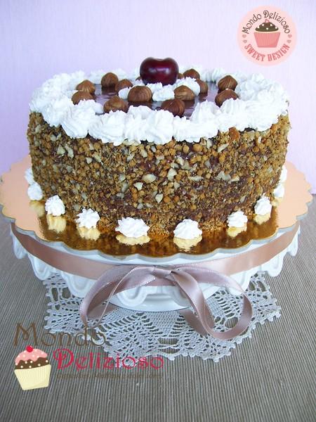 Torta Nocciolotta - Cheesecake