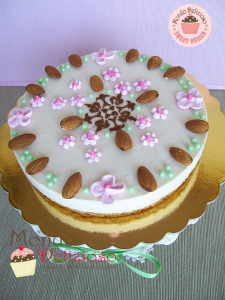 Cheesecake Ricotta e Panna alla Mandorla