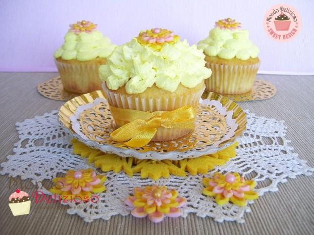 Cupcakes Limone e Cioccolato Bianco