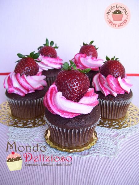 Cupcakes CioccoFragola