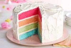 rainbow cake 4 °
