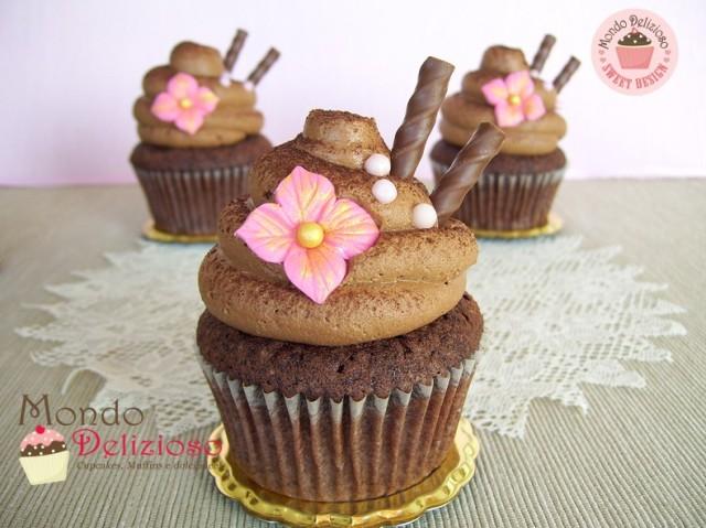 CCC Creamy Chocolate Cupcakes