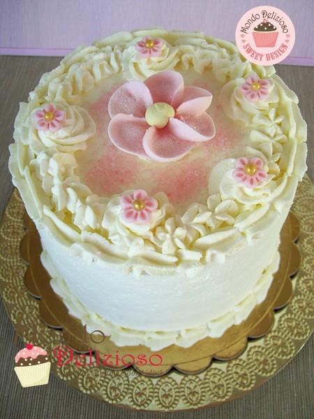 Pink Rainbow Cake