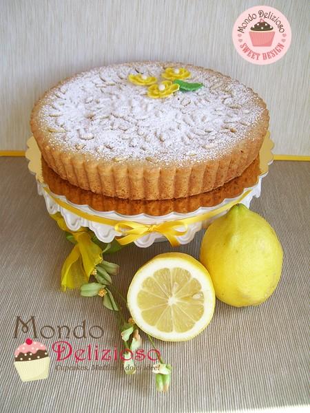 Torta della Nonna al profumo di Limone